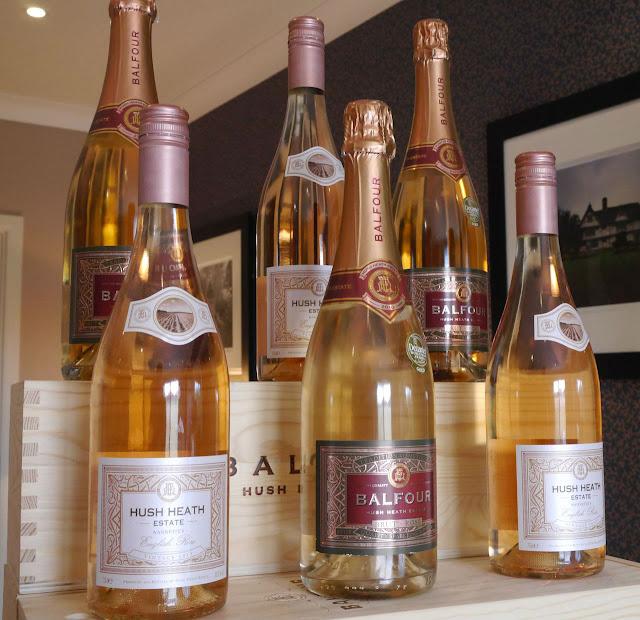 Wine tasting at Hush Heath Winery