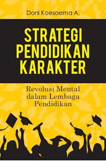 Buku Baru: Strategi Pendidikan Karakter
