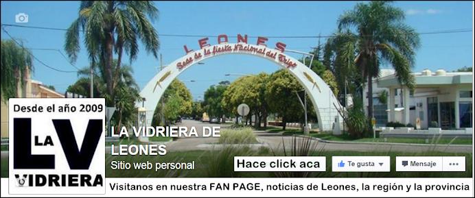 Visitá el Facebook de La Vidriera de Leones