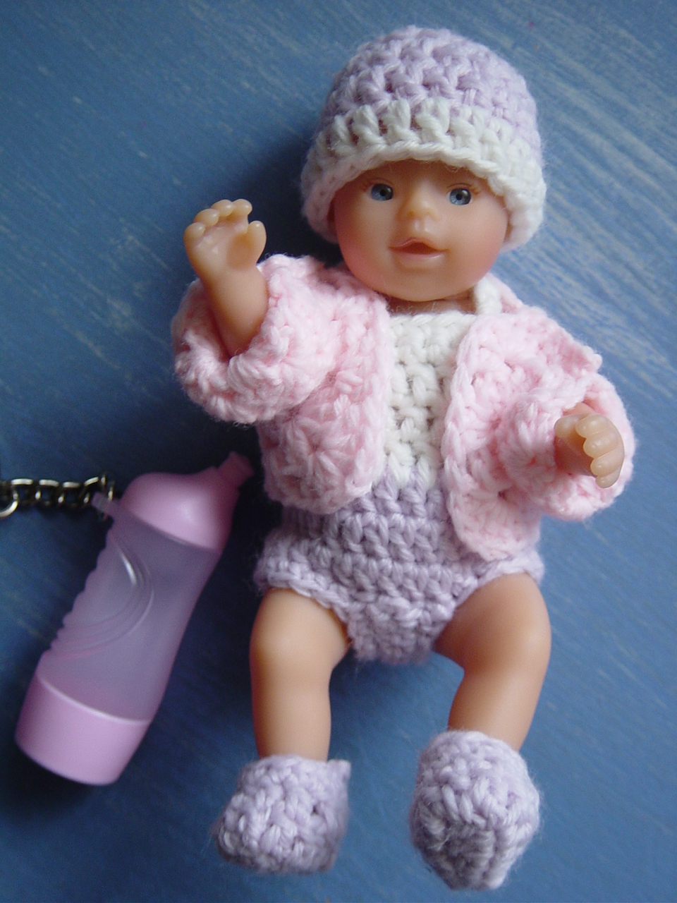 Flushed With Rosy Colour A Tiny Pink Baby Doll Jacket My