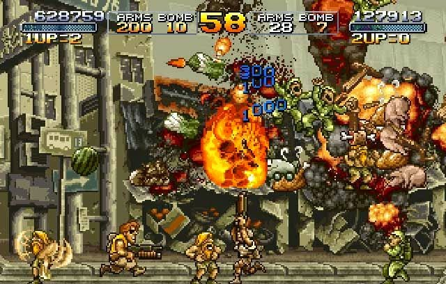 Metal Slug Series PC Games Gameplay