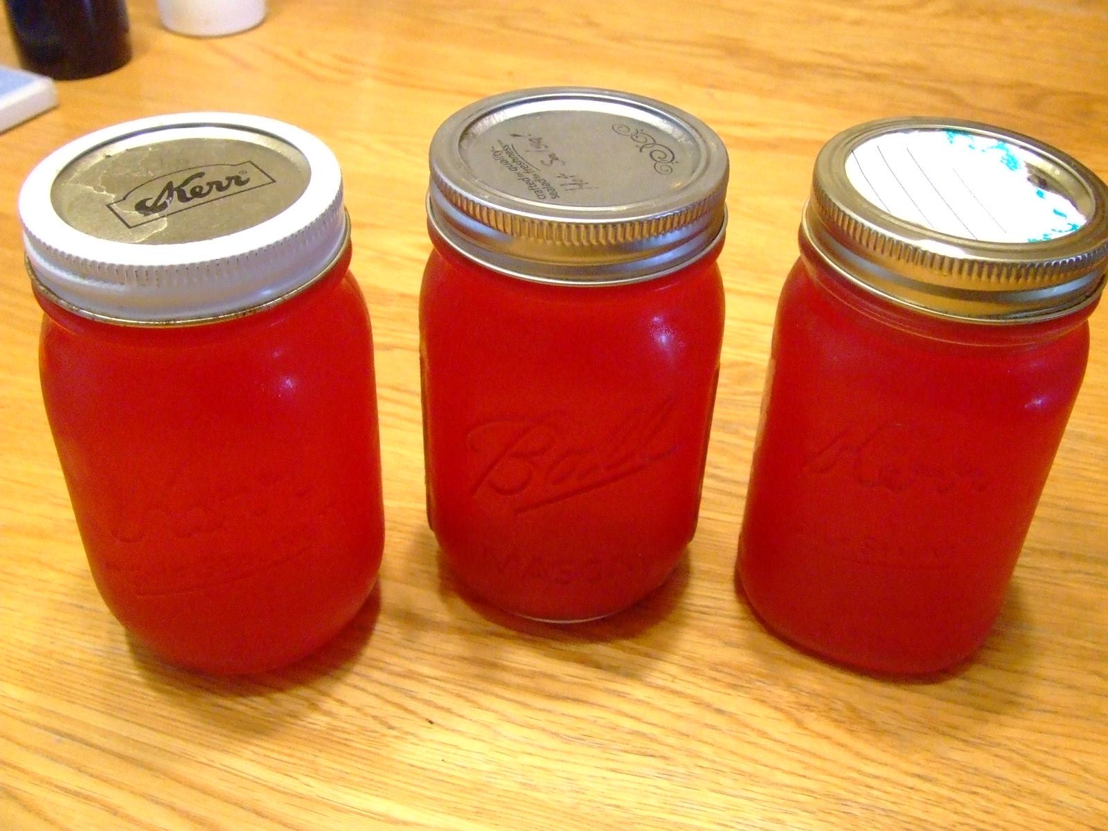 Томатный сок на зиму, томатный сок в домашних 50