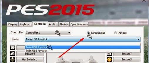 Cara Setting Pengaturan Joy Stick PES 2015 Mudah Dan Cepat