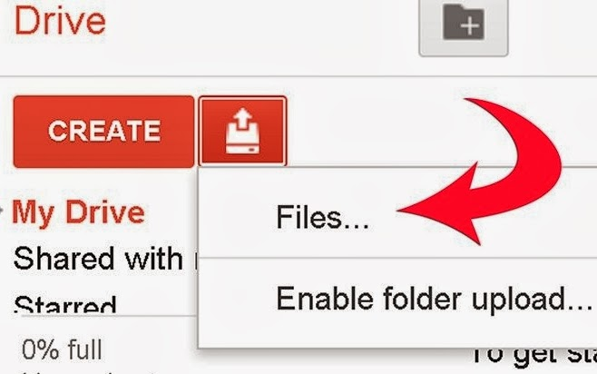 how to recover google drive files