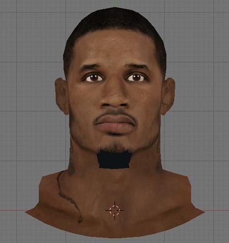 NBA 2K14 Trevor Ariza Face Mod