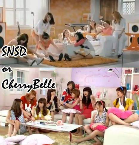 Cherry Belle Plagiat SNSD