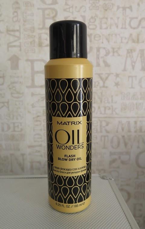 Matrix Biolage OIL WONDERS Flash Blow Dry Oil aliejus