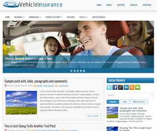 VehicleInsurance-Blogger-Template