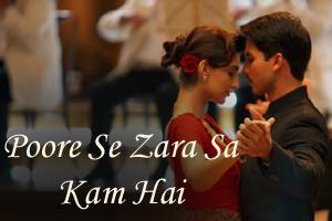 Poore Se Zara Sa Kam Hai