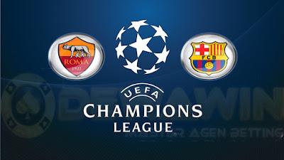 Prediksi Hasil AS Roma vs Barcelona Liga Champion 2015-2016