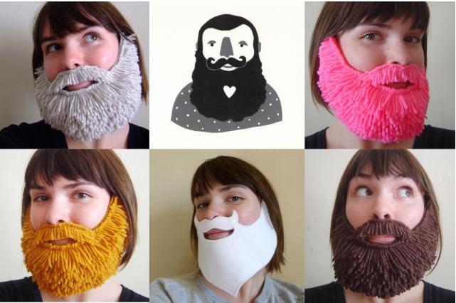 Как сделать бороду для ребенка