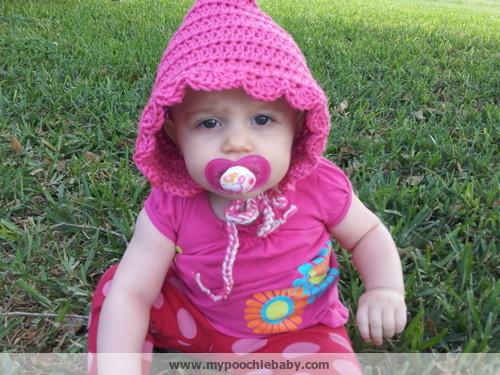 Raising Mimi Poochiebaby Pixie Hood Hat Free Crochet Pattern