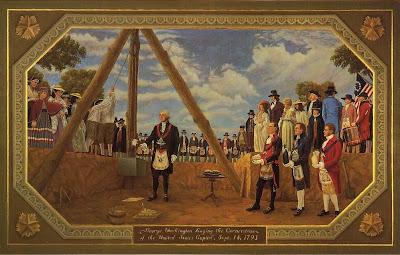 Simbolismo masónico en la fundación de los Estados Unidos de América