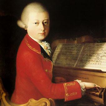 Imagen de un Joven Mozart