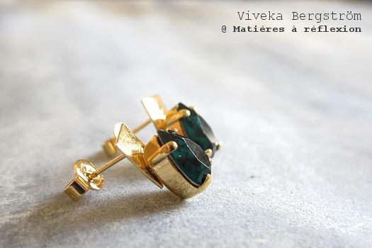 SOLDES boucles d'oreille Viveka Bergström