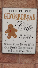 The Olde Gingerbread Cafe Sign