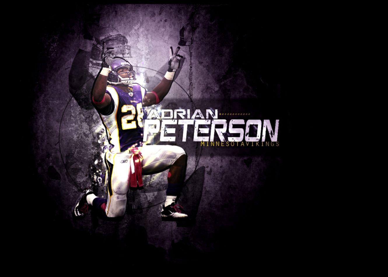 View Original Size Adrian Peterson Minnesota Vikings