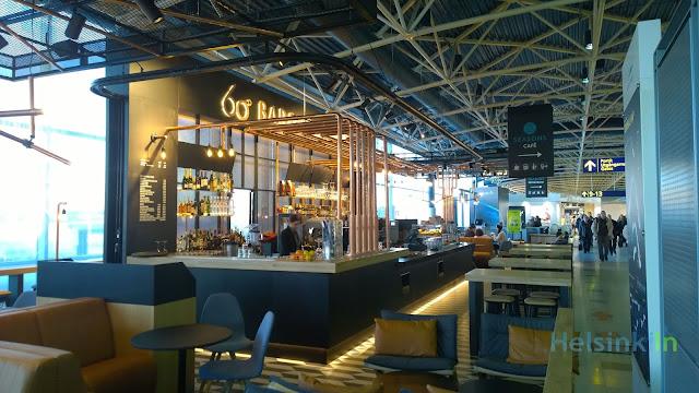 60° Bar & Brewery at Helsinki Vantaa Airport