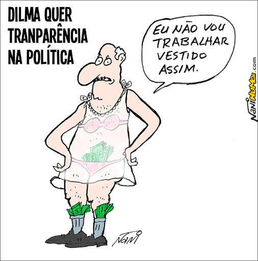 dilma quer transparência na política