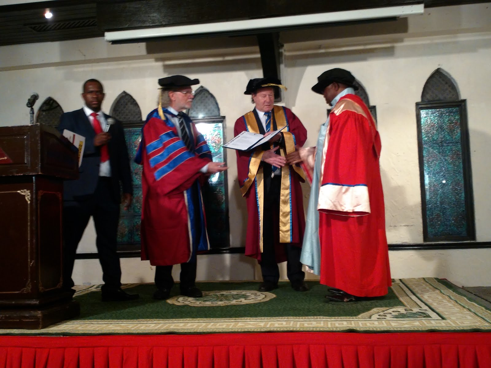 St Clements Doctorate Presentation