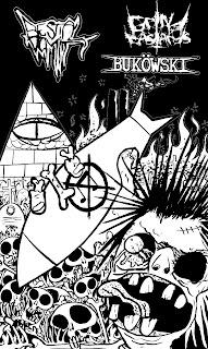 apocalipsis grindpunk-bestial vomit-bukowsky-grind bastards-terror nuclear-ruido-noise-quien calla otorga label-diy-
