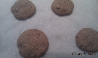 Galletas chocolateadas