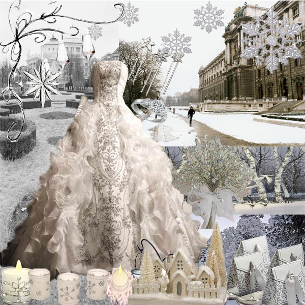 elegant winter wedding dresses and ideas
