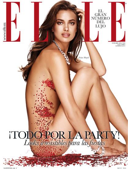 portada Elle diciembre 2011