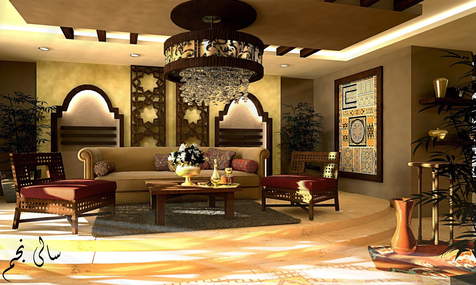 Islamic Interior Design Set For Love Of Interior Design   My Designs