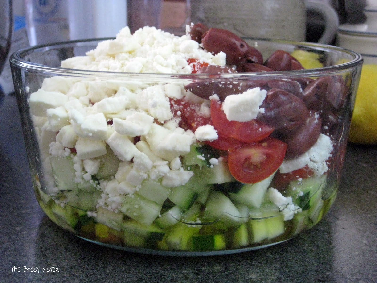 The Bossy Sister: Beat the Heat with a Cool Summer Salad