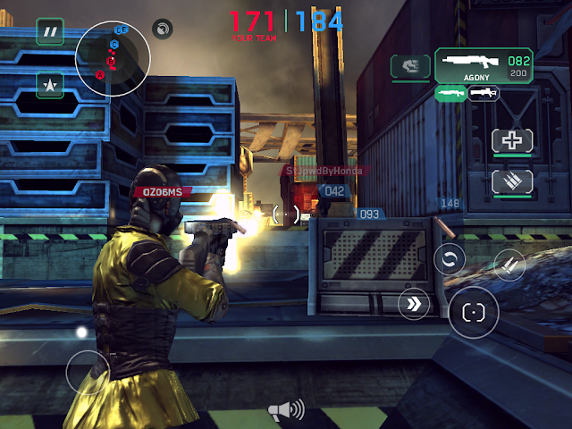 Shadowgun DeadZone Whirlwind of Death Tactic
