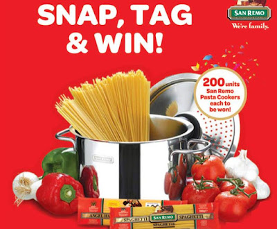 San Remo Snap, Tag & Win Contest
