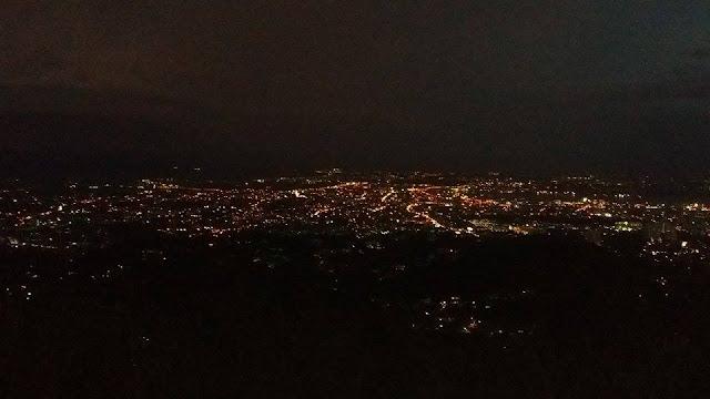 Cebu City downtown lights