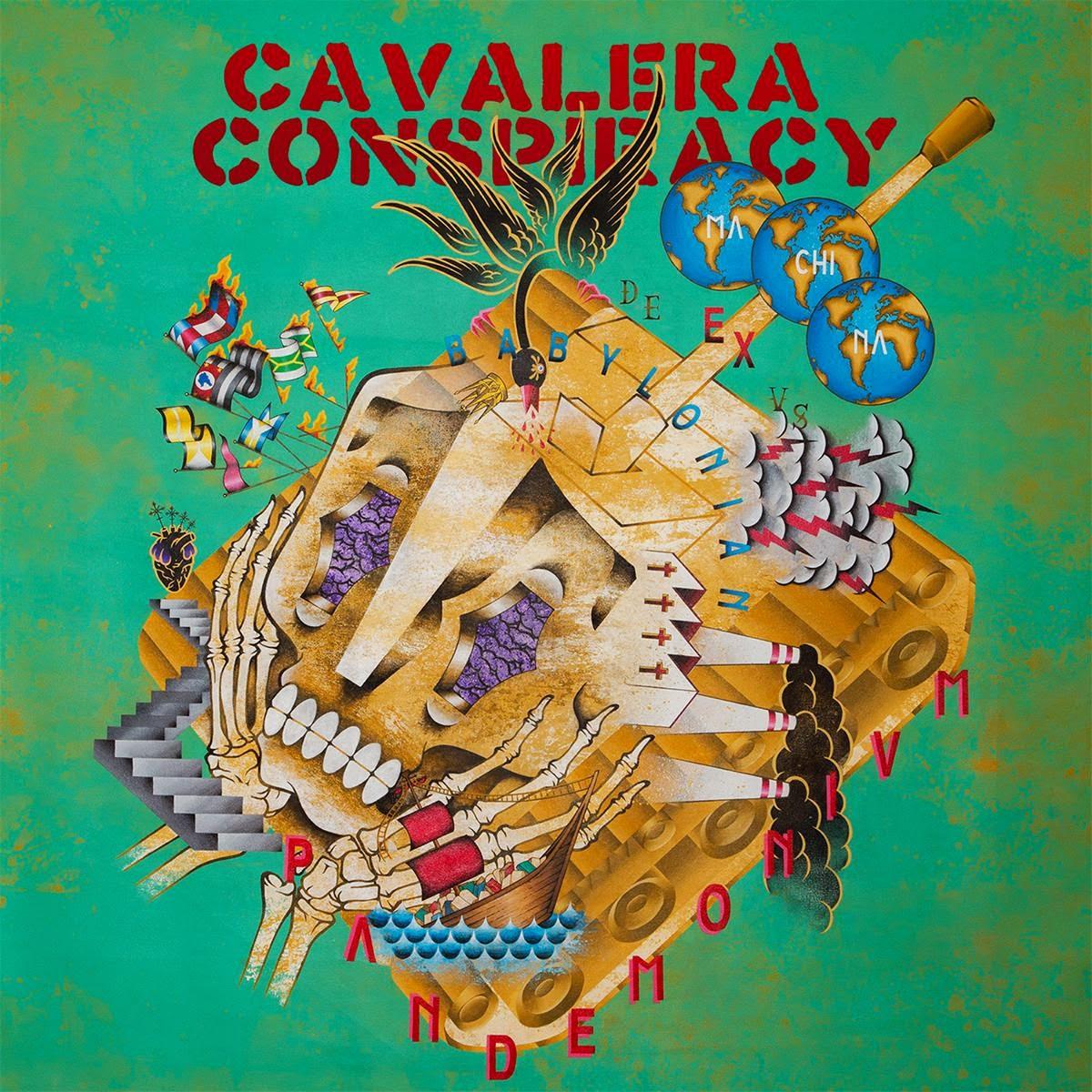 Cavalera Conspiracy - Pandemonium (2014)  [Deluxe Edition]
