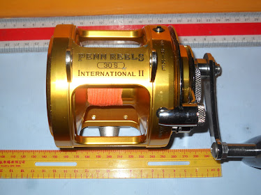 Penn INTERNATIONAL II 30S GOLD 2 Speed Tuned by Cals Shop Tune - USED Like NEW RM1690