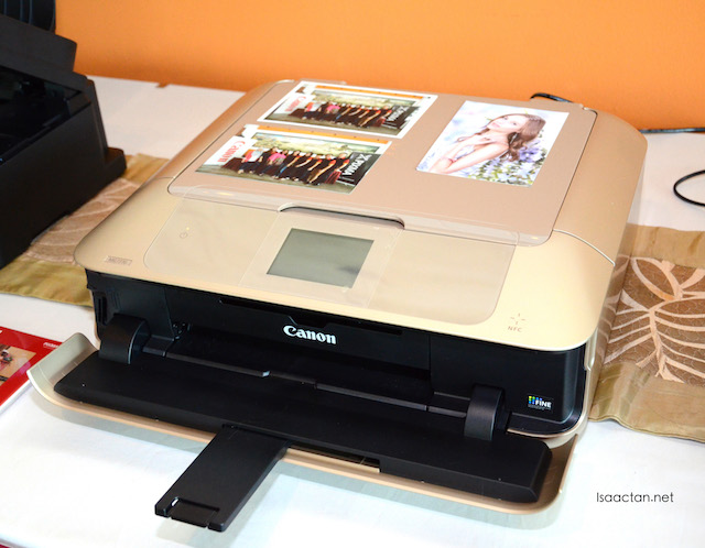 Flagship model, the Canon PIXMA MG7770 Photo All-in-One Printer