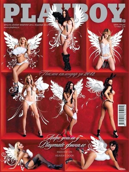 Playboy Sérvia – Janeiro e fevereiro 2012