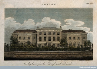 London Asylum for the Deaf and Dumb, from Wellcome Library, London