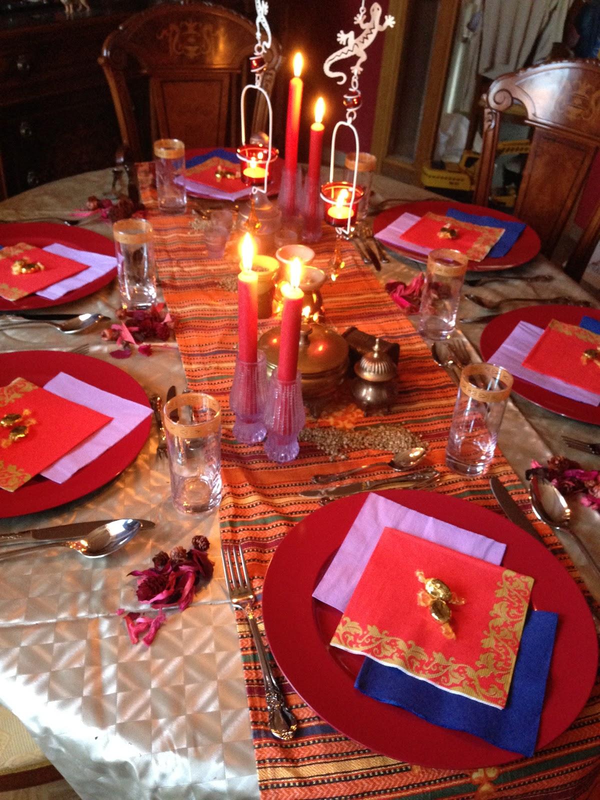 Cuarenta sombras de eva noche tem tica cena marroqu - Decoracion en espana ...