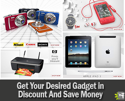Get Your Desired Gadget in Discount And Save Money Anytime You Want to