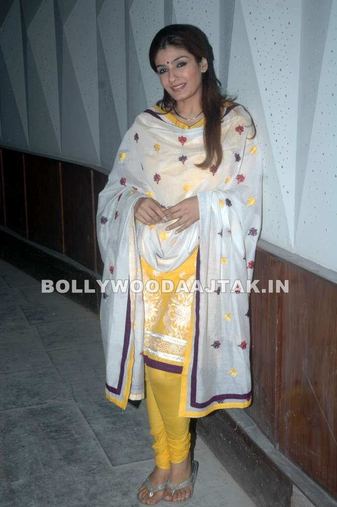 Raveena 1 - Raveena at children's day celebrations
