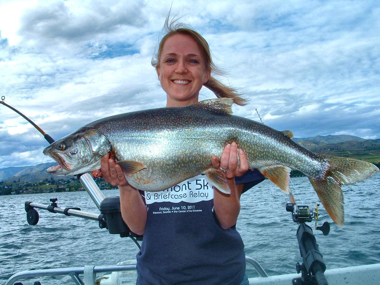 Northwest salmon and steelhead fishing lake chelan update for Lake chelan fishing