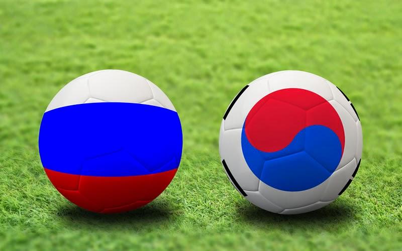 Rusia 1 - 1 Corea del Sur. Grupo H