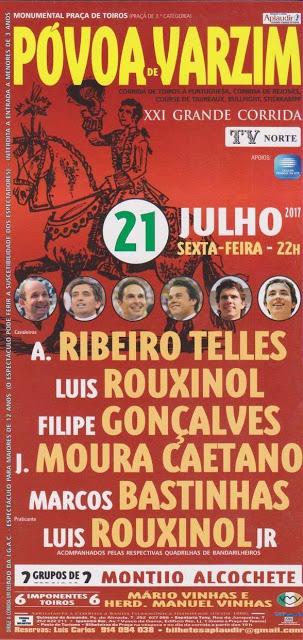 POVOA DE VARZIM (PORTUGAL) 21-07-2017. XXI CORRIDA TV NORTE.