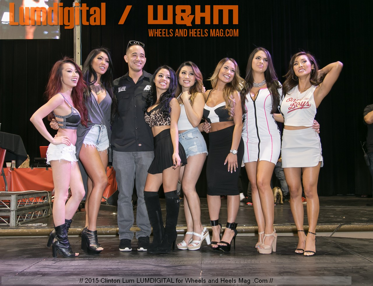 2015 Autocon Los Angeles Car Show and Models