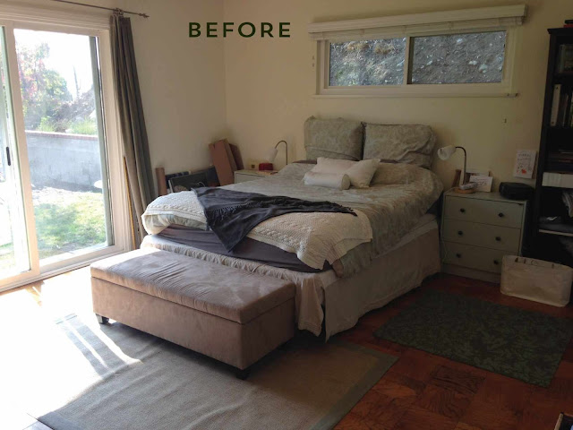 Deco antes y despu s de un dormitorio en acentos dorados for Dormitorios dorados