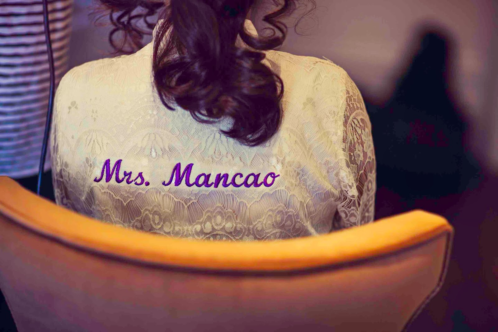Soon to be Mrs. Mancao