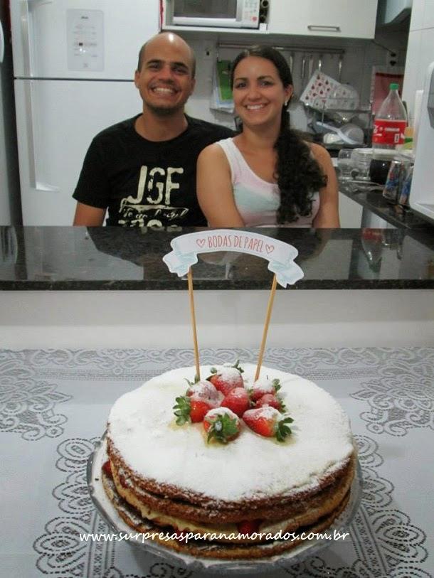 1 ano de casada