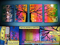 Pajangan Colourful Tree