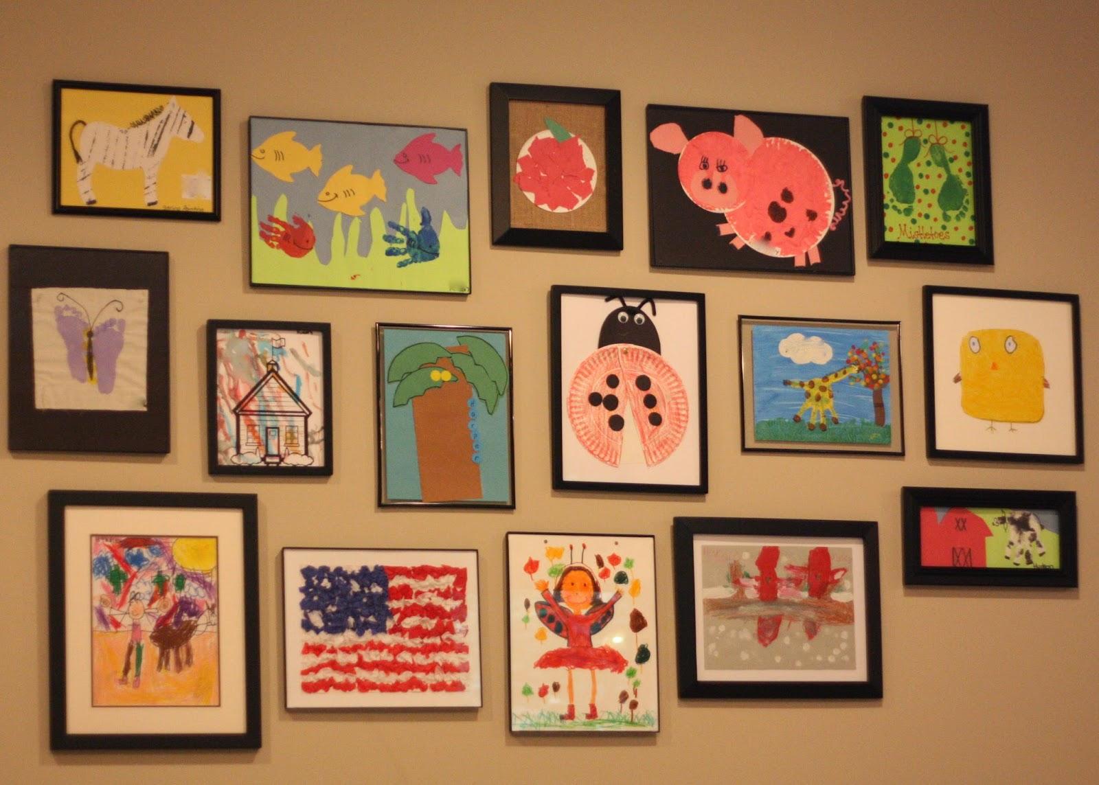 Magnolia Mamas : Mission Accomplished - Kids Artwork Display